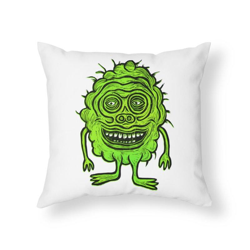 Hector Meatbaugh Home Throw Pillow by Sean StarWars' Artist Shop