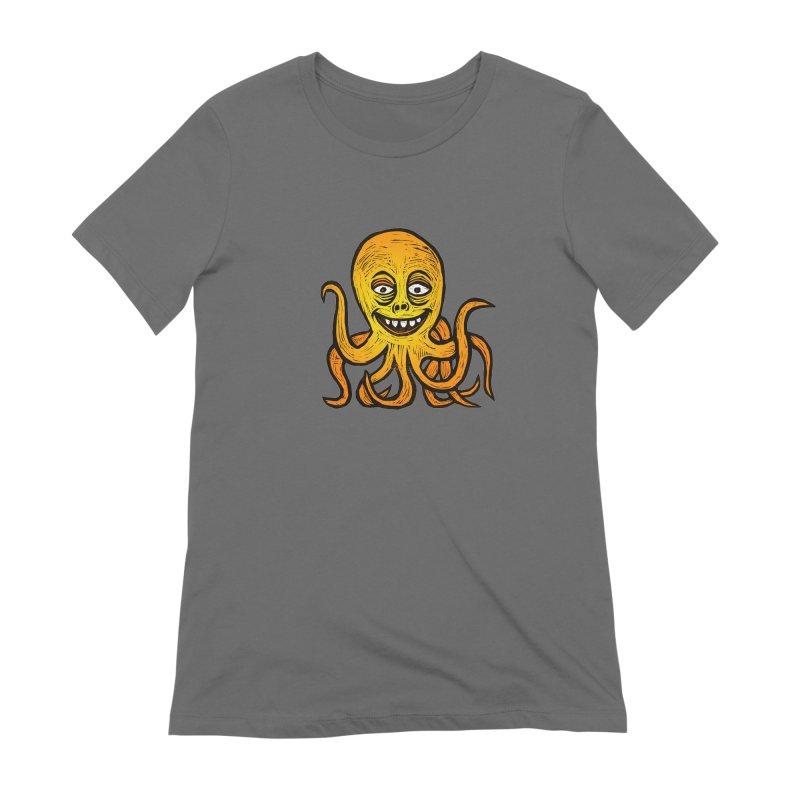 Shifty Octopus Women's T-Shirt by Sean StarWars' Artist Shop