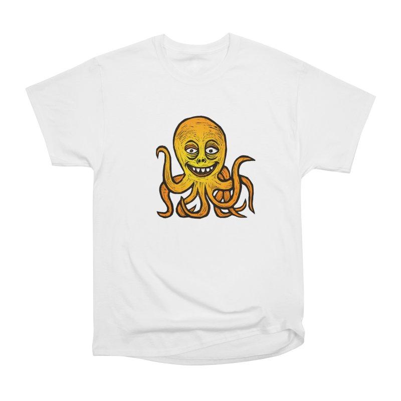 Shifty Octopus Women's Heavyweight Unisex T-Shirt by Sean StarWars' Artist Shop