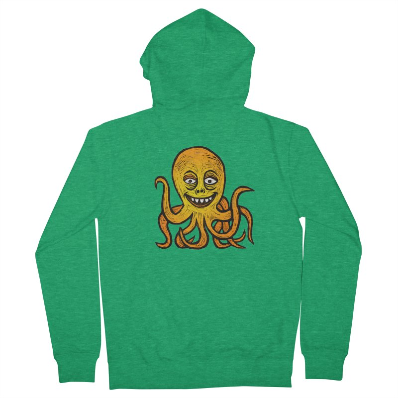 Shifty Octopus Women's French Terry Zip-Up Hoody by Sean StarWars' Artist Shop