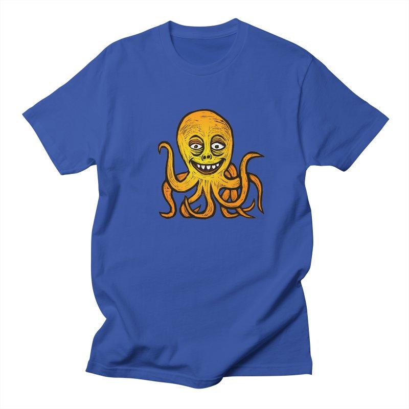 Shifty Octopus Men's Regular T-Shirt by Sean StarWars' Artist Shop