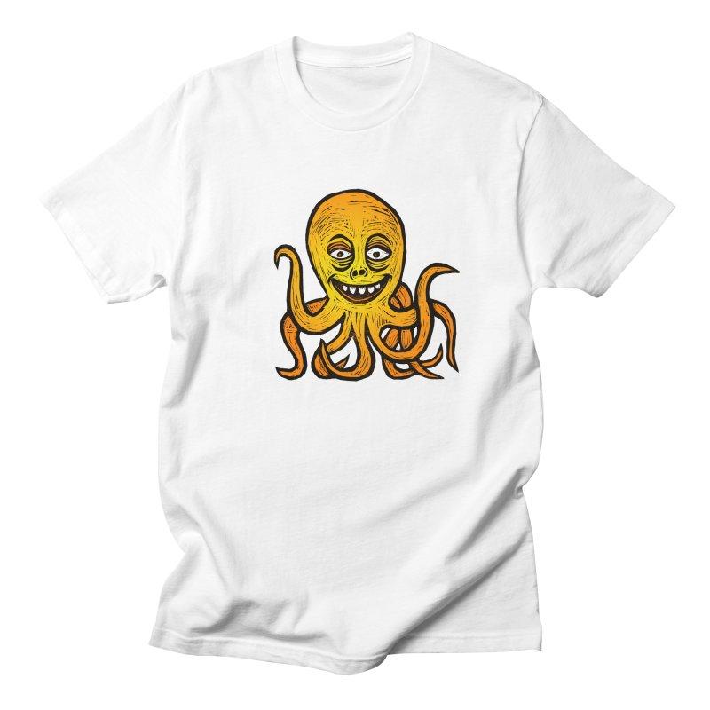 Shifty Octopus Women's Regular Unisex T-Shirt by Sean StarWars' Artist Shop