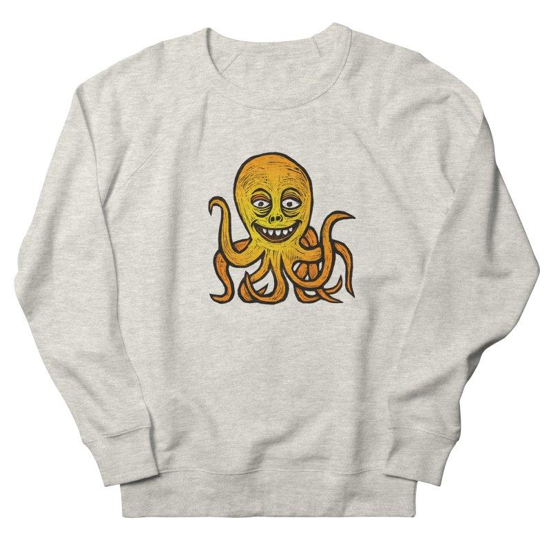 Shifty Octopus Women's French Terry Sweatshirt by Sean StarWars' Artist Shop