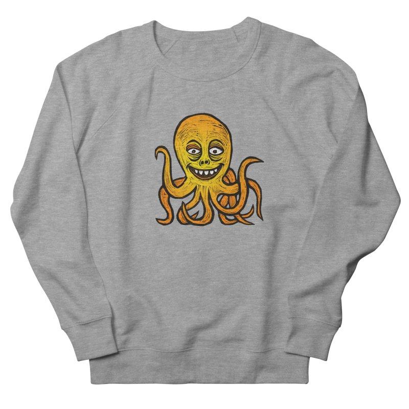 Shifty Octopus Men's French Terry Sweatshirt by Sean StarWars' Artist Shop