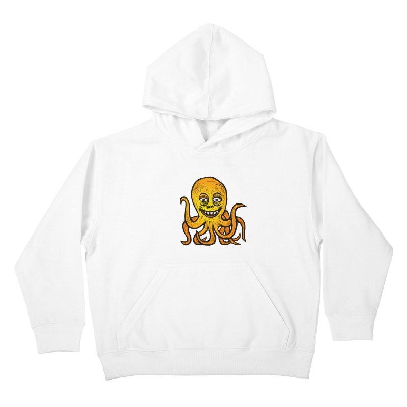 Shifty Octopus Kids Pullover Hoody by Sean StarWars' Artist Shop