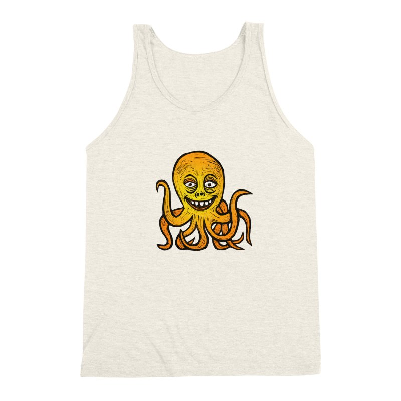 Shifty Octopus Men's Triblend Tank by Sean StarWars' Artist Shop