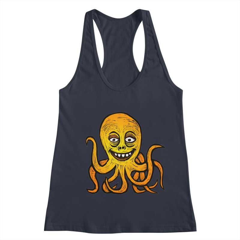 Shifty Octopus Women's Racerback Tank by Sean StarWars' Artist Shop