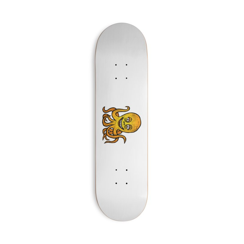 Shifty Octopus Accessories Deck Only Skateboard by Sean StarWars' Artist Shop