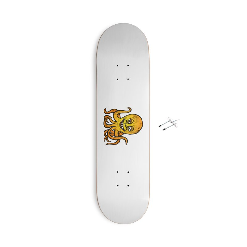 Shifty Octopus Accessories With Hanging Hardware Skateboard by Sean StarWars' Artist Shop