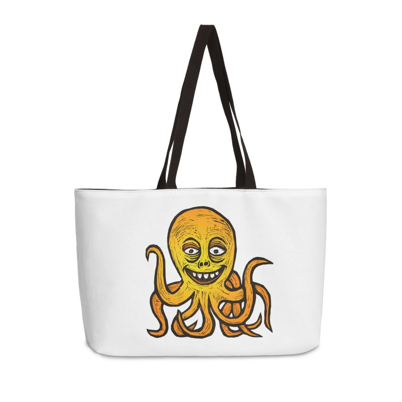 Shifty Octopus Accessories Weekender Bag Bag by Sean StarWars' Artist Shop