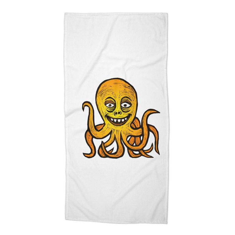 Shifty Octopus Accessories Beach Towel by Sean StarWars' Artist Shop