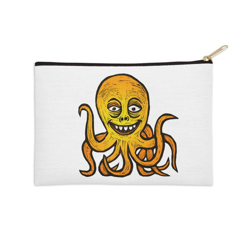 Shifty Octopus Accessories Zip Pouch by Sean StarWars' Artist Shop
