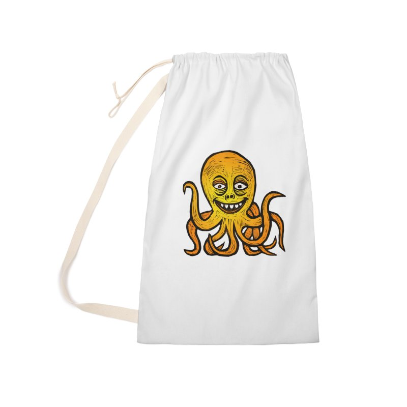 Shifty Octopus Accessories Laundry Bag Bag by Sean StarWars' Artist Shop