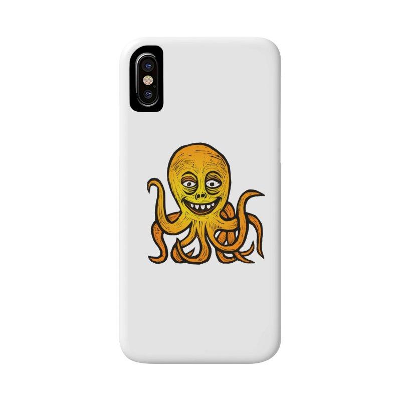 Shifty Octopus Accessories Phone Case by Sean StarWars' Artist Shop
