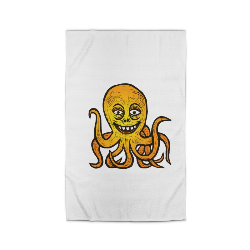 Shifty Octopus Home Rug by Sean StarWars' Artist Shop