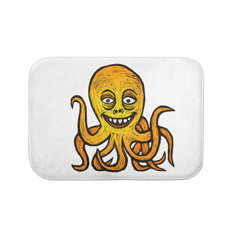 Shifty Octopus Home Bath Mat by Sean StarWars' Artist Shop