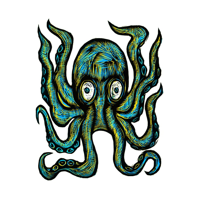 Octopus Men's T-Shirt by Sean StarWars' Artist Shop