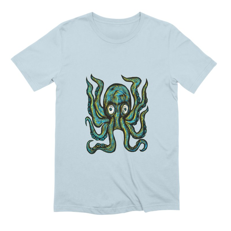 Octopus Men's Extra Soft T-Shirt by Sean StarWars' Artist Shop