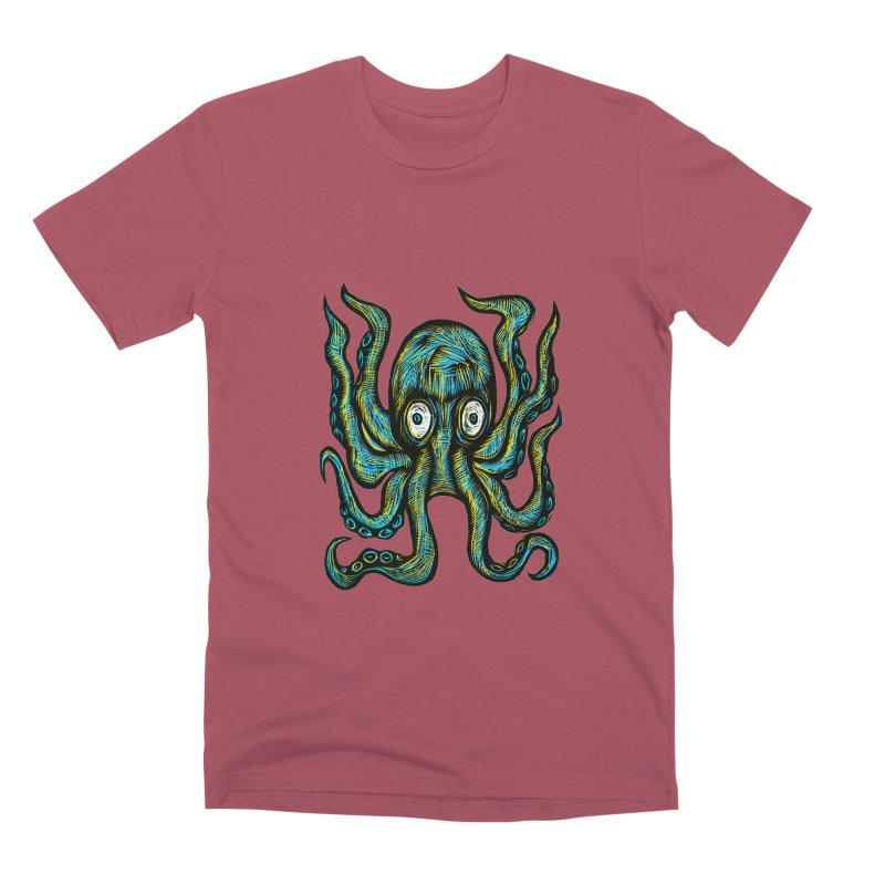 Octopus Men's Premium T-Shirt by Sean StarWars' Artist Shop