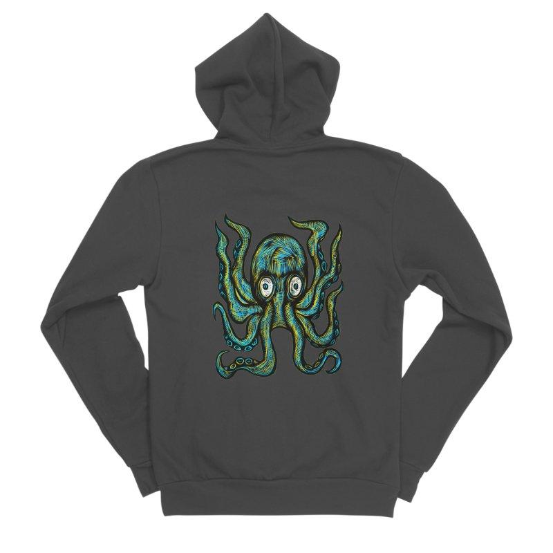 Octopus Women's Sponge Fleece Zip-Up Hoody by Sean StarWars' Artist Shop
