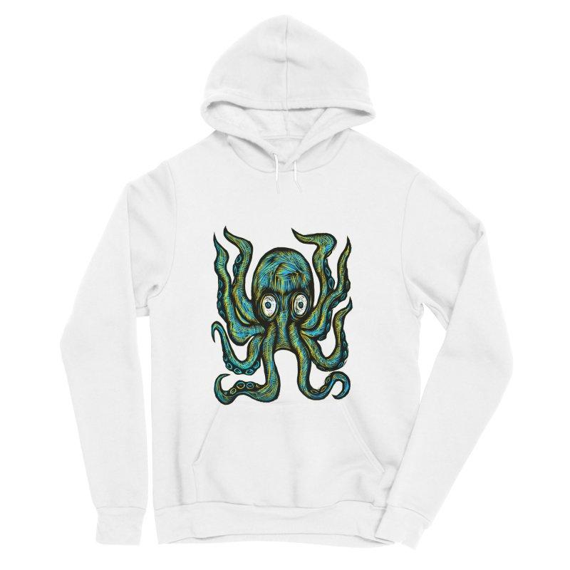 Octopus Women's Sponge Fleece Pullover Hoody by Sean StarWars' Artist Shop