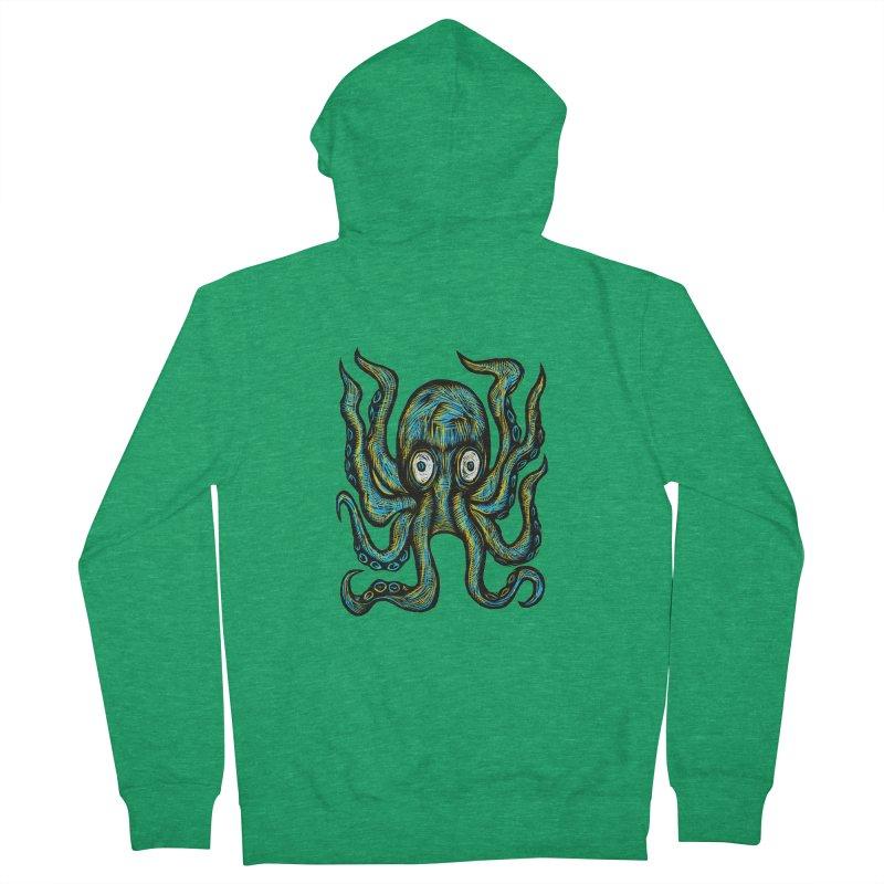 Octopus Women's Zip-Up Hoody by Sean StarWars' Artist Shop