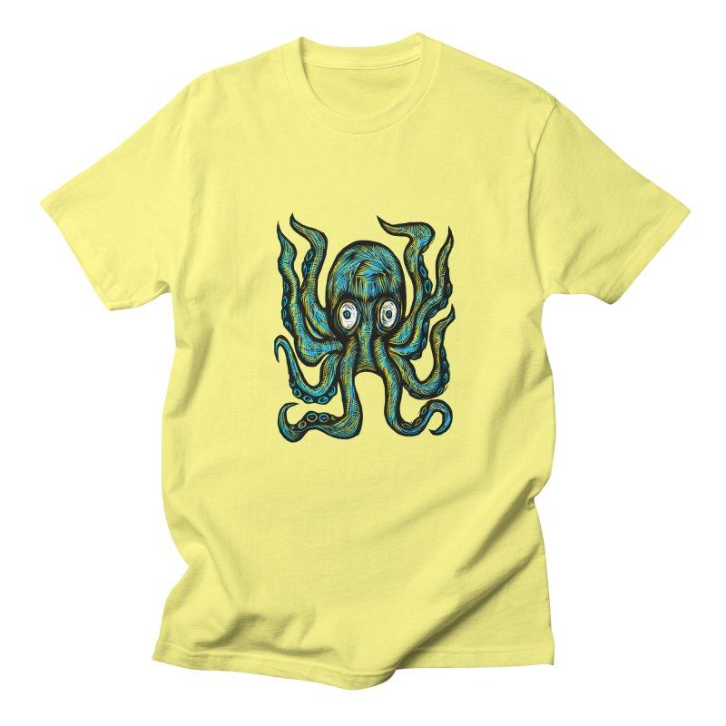 Octopus Men's Regular T-Shirt by Sean StarWars' Artist Shop