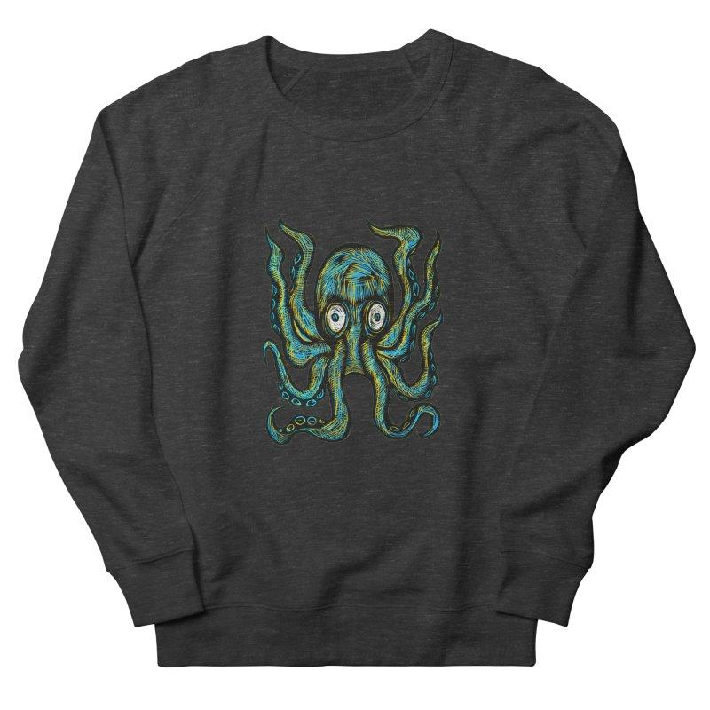 Octopus Men's French Terry Sweatshirt by Sean StarWars' Artist Shop