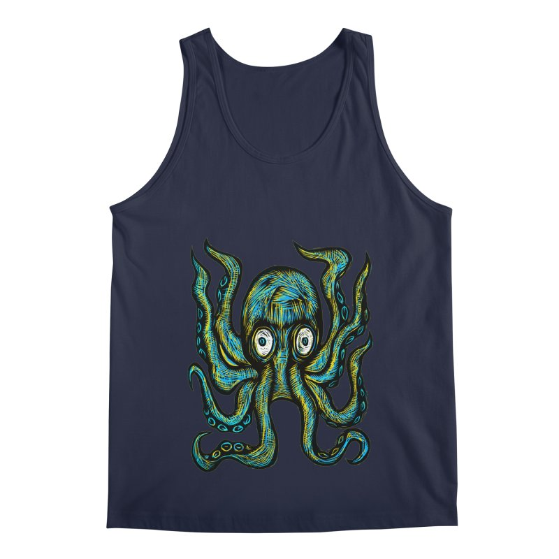 Octopus Men's Regular Tank by Sean StarWars' Artist Shop