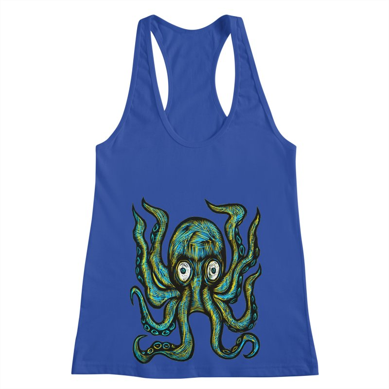 Octopus Women's Racerback Tank by Sean StarWars' Artist Shop