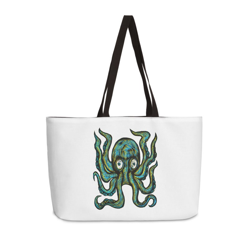 Octopus Accessories Weekender Bag Bag by Sean StarWars' Artist Shop