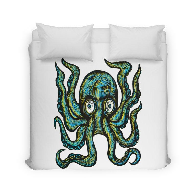 Octopus Home Duvet by Sean StarWars' Artist Shop