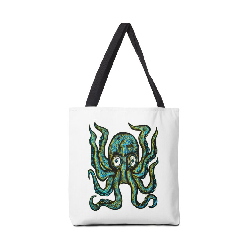 Octopus Accessories Tote Bag Bag by Sean StarWars' Artist Shop