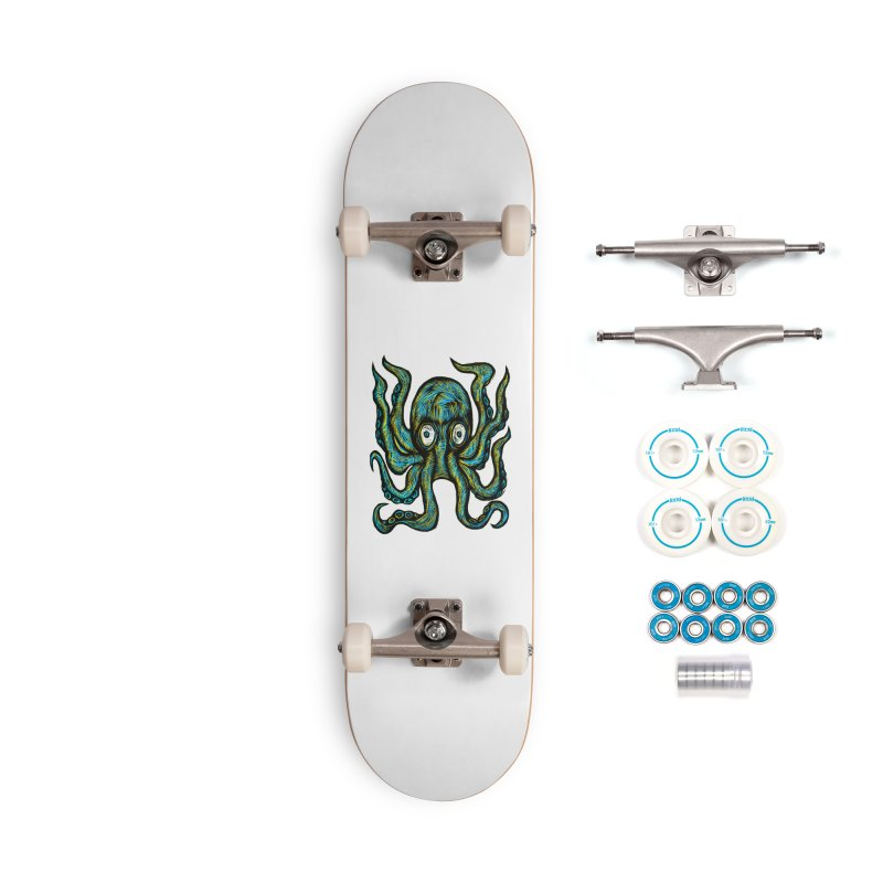 Octopus Accessories Complete - Basic Skateboard by Sean StarWars' Artist Shop