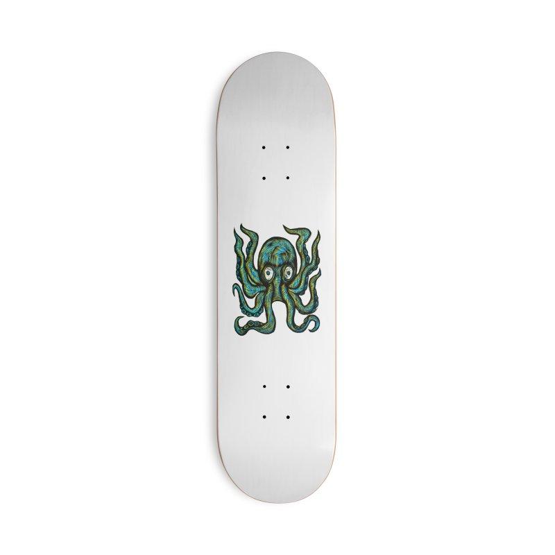 Octopus Accessories Deck Only Skateboard by Sean StarWars' Artist Shop