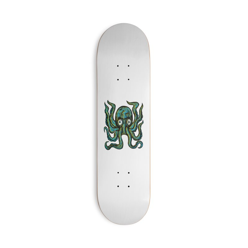 Octopus Accessories Skateboard by Sean StarWars' Artist Shop