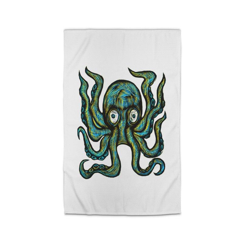Octopus Home Rug by Sean StarWars' Artist Shop