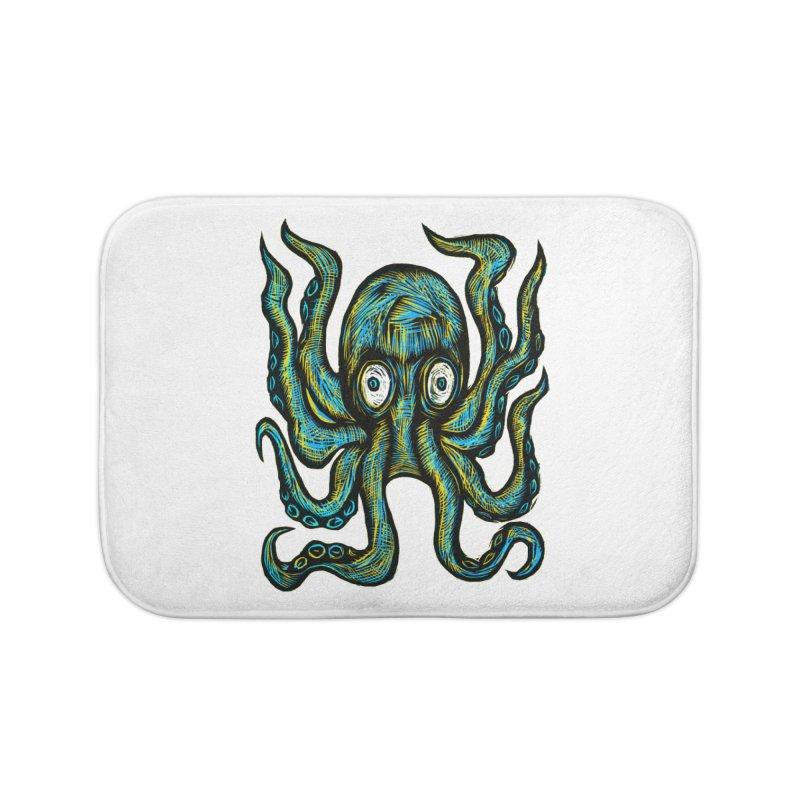 Octopus Home Bath Mat by Sean StarWars' Artist Shop