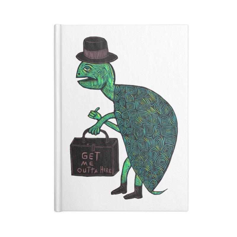 Tophat Turtle Accessories Notebook by Sean StarWars' Artist Shop