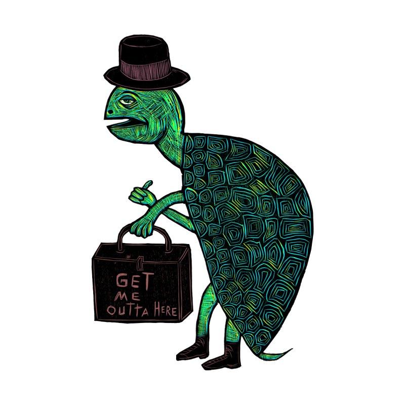 Tophat Turtle Accessories Bag by Sean StarWars' Artist Shop