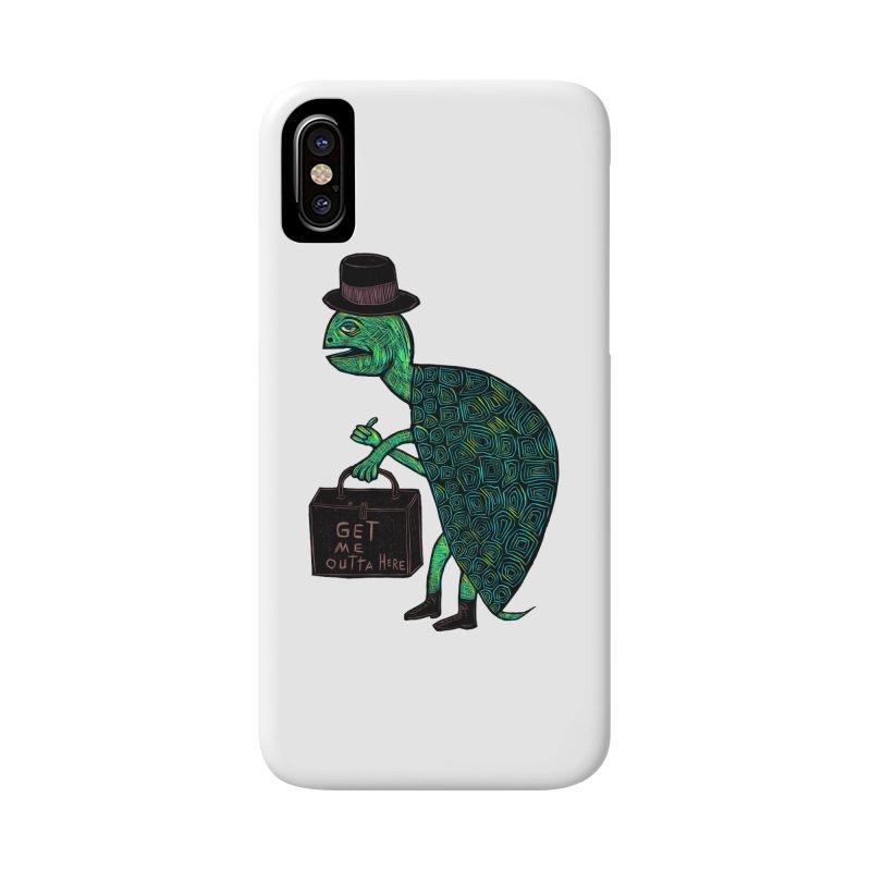 Tophat Turtle Accessories Phone Case by Sean StarWars' Artist Shop
