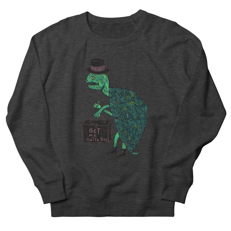 Tophat Turtle Men's Sweatshirt by Sean StarWars' Artist Shop