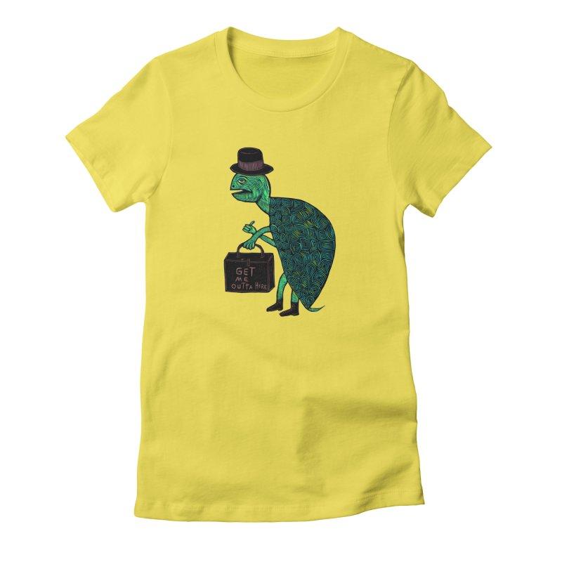 Tophat Turtle Women's Lounge Pants by Sean StarWars' Artist Shop