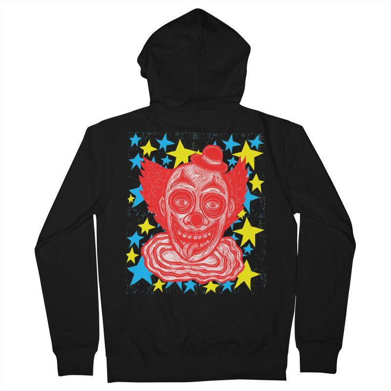 Clown Women's Zip-Up Hoody by Sean StarWars' Artist Shop