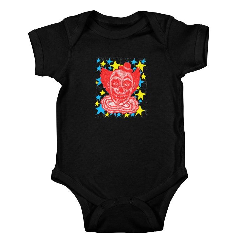 Clown Kids Baby Bodysuit by Sean StarWars' Artist Shop