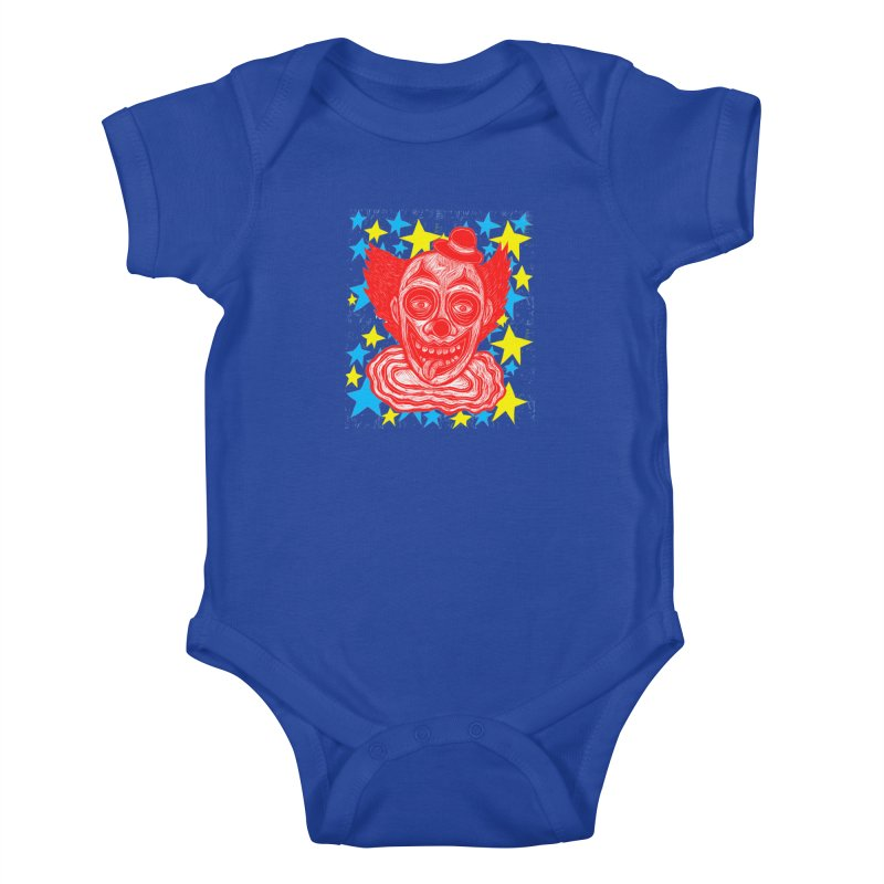 Clown Kids Baby Bodysuit by Sean StarWars' Artist Shop