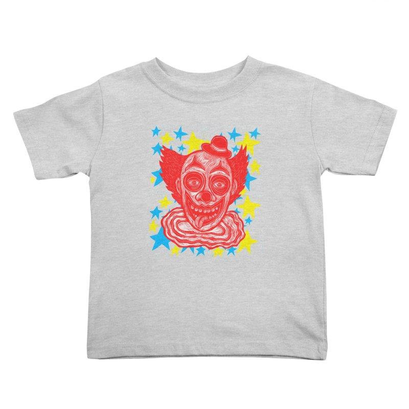 Clown Kids Toddler T-Shirt by Sean StarWars' Artist Shop
