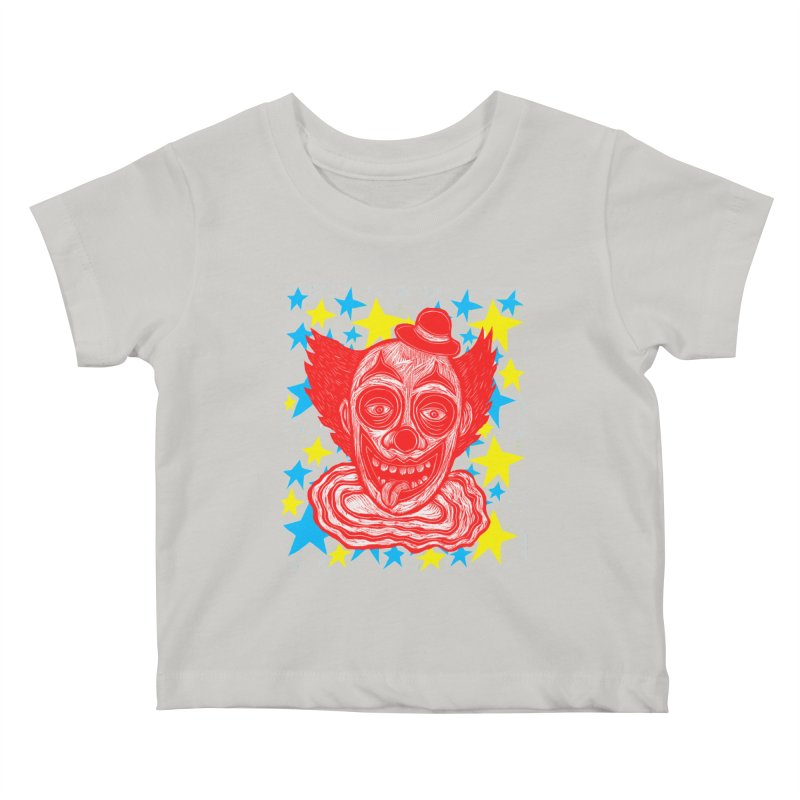Clown Kids Baby T-Shirt by Sean StarWars' Artist Shop