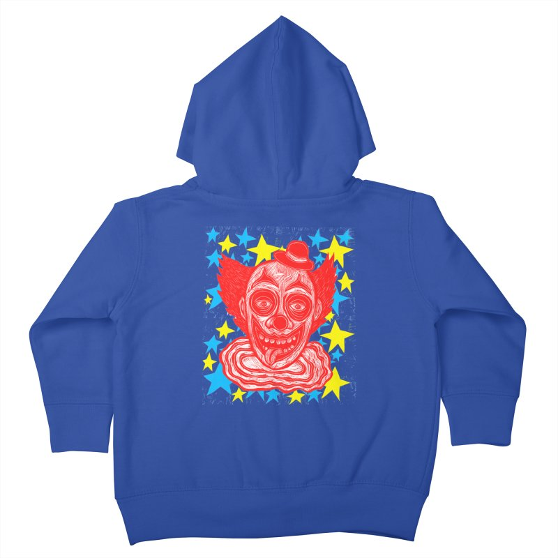 Clown Kids Toddler Zip-Up Hoody by Sean StarWars' Artist Shop
