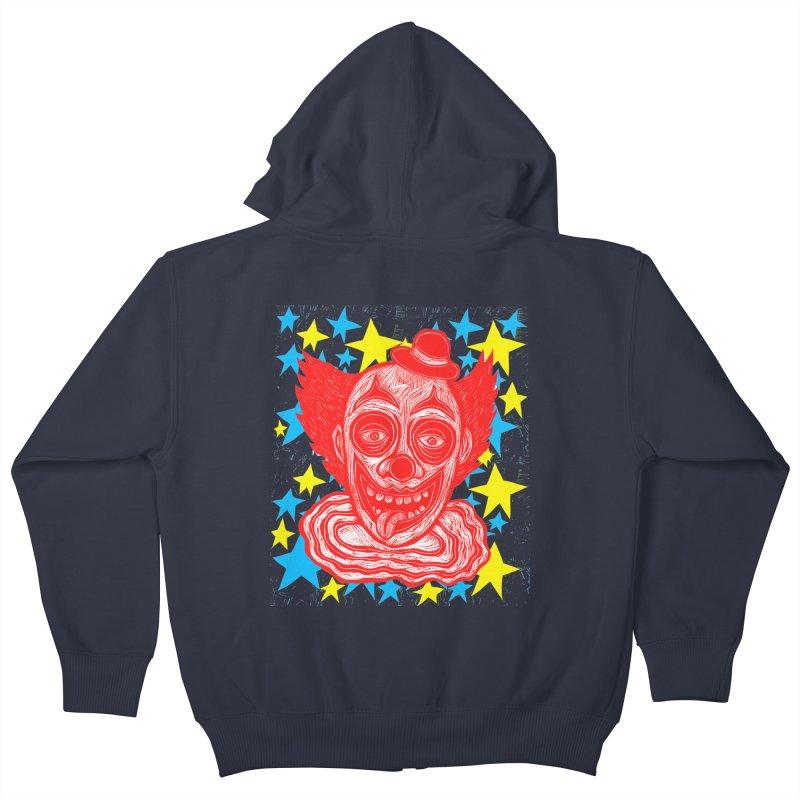 Clown Kids Zip-Up Hoody by Sean StarWars' Artist Shop